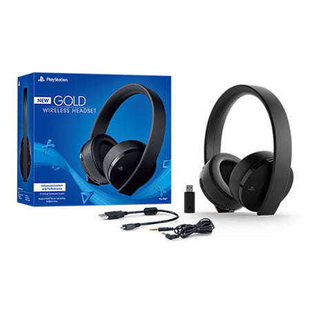 Playstation New Gold Wireless Headset Local Set