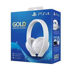 Playstation 4 Gold Wireless Headset Export Set (White)