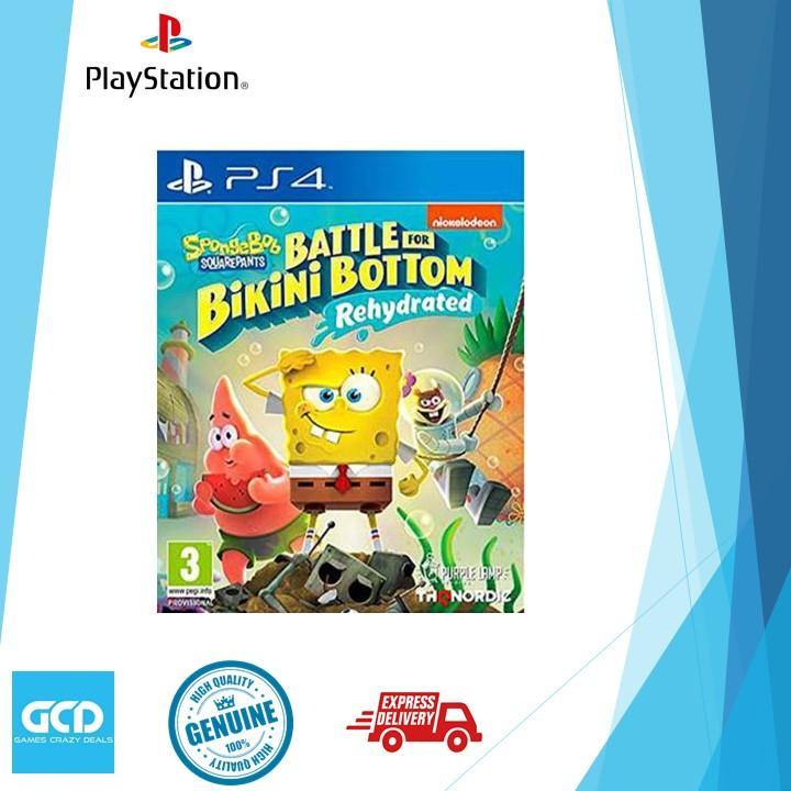 PS4 Spongebob Battle for Bikini Bottom Rehydrated (R2)