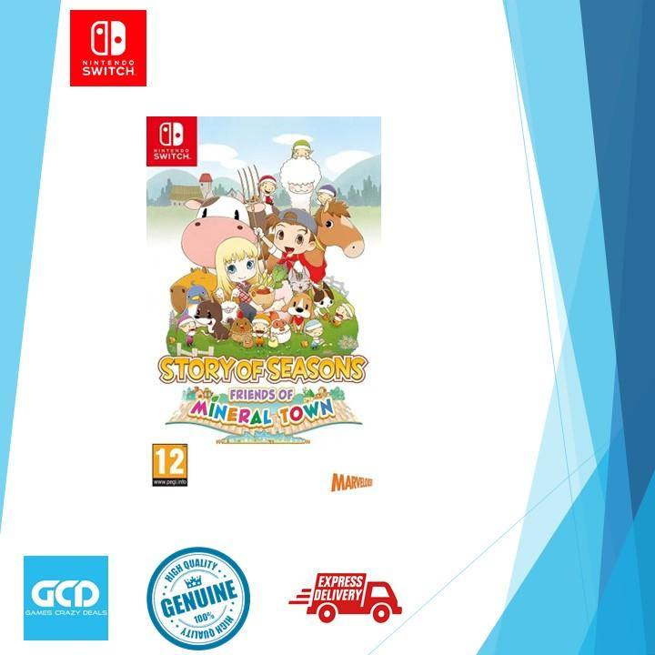Nintendo Switch Story of Seasons Friends of Mineral Town