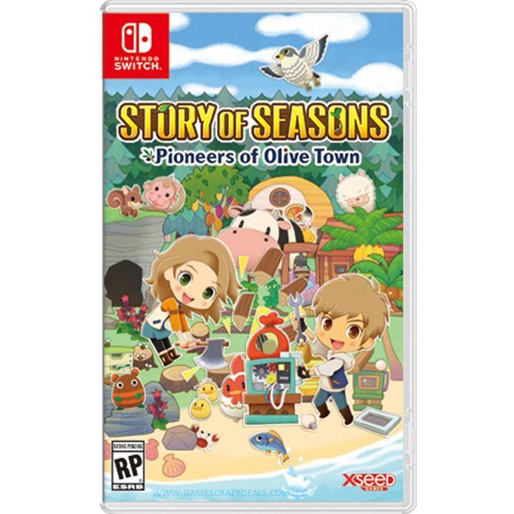 Nintendo Switch Story of Seasons Pioneers of Olive Town (Asia)