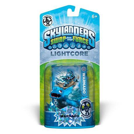 Skylanders Force Lightcore - (Warnado)