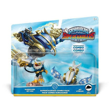 Skylanders SuperCharged Combo Dual Pack: Hurricane Jet-Vac and Jet Stream