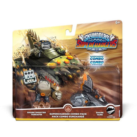 Skylanders SuperCharger Combo Dual Pack: Shark Shooter Terrafin and Shark Tank