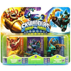 Skylanders Swap Force (Big Bang Trigger Happy, Star Strike, Anchors Away Gill Grunt)