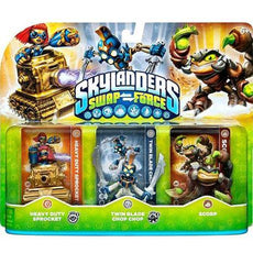 Skylanders Swap Force (Heavy Duty Sprocket, Twin Blade Chop Chop, Scorp)