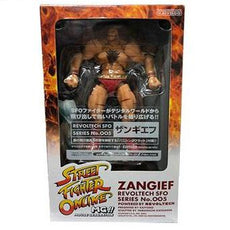 Street Fighter Online Zangief Revoltech Series No. 005