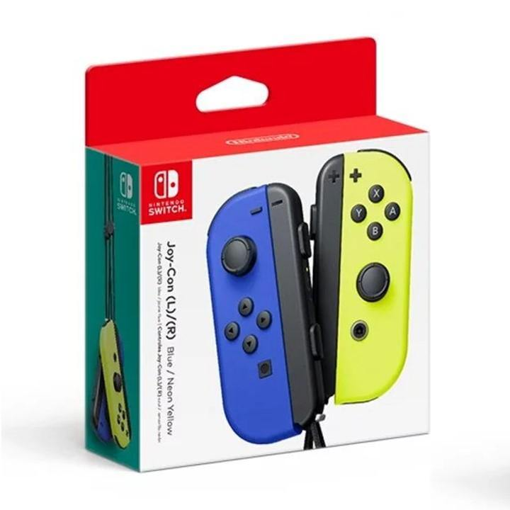 Nintendo Switch Blue Neon Yellow Joy Con (Local 3 Months Warranty By Maxsoft)