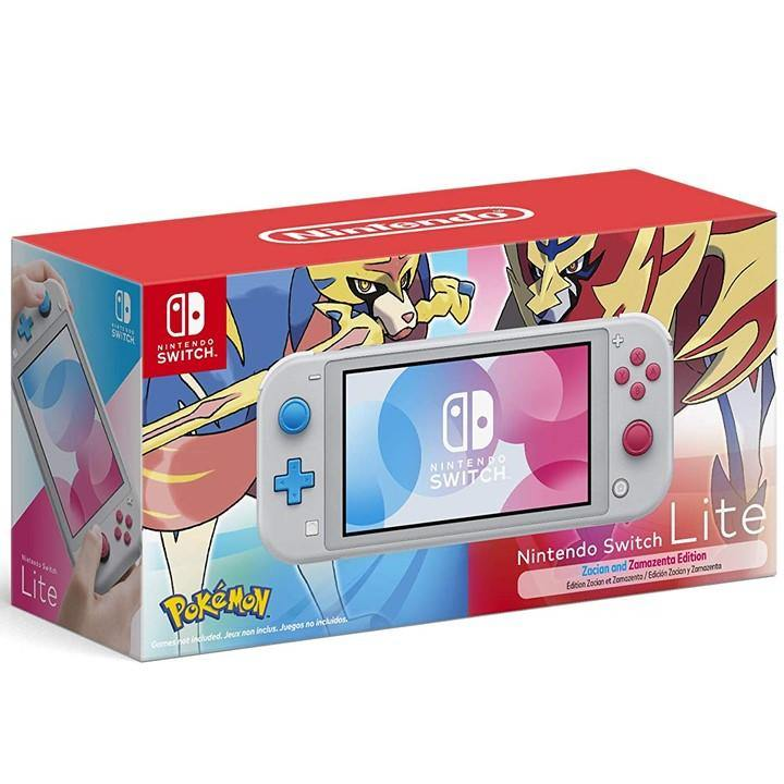 Nintendo Switch Lite Zacian and Zamazenta Limited Edition (Export)