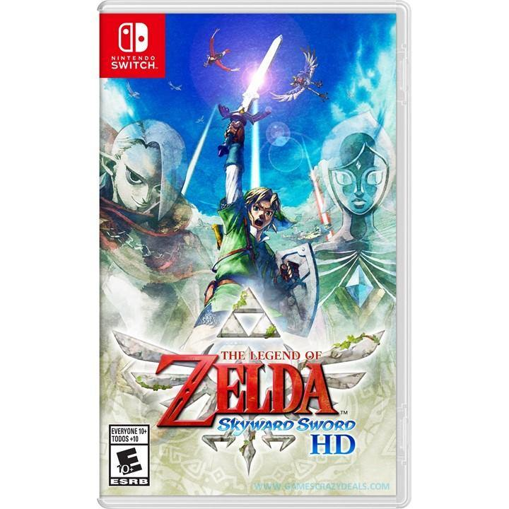 [PRE ORDER] Nintendo Switch The Legend of Zelda Skyward Sword HD (Asia)