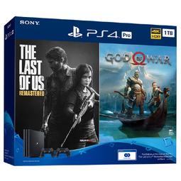 PS4 Pro 1TB The Last of Us & God of War Bundle (15 Months Local Warranty)