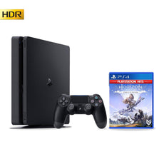 PS4 Slim Console 1TB Black with 1 Game - Refurbished