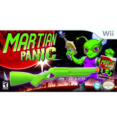 Wii Martian Panic with Blaster Bundle