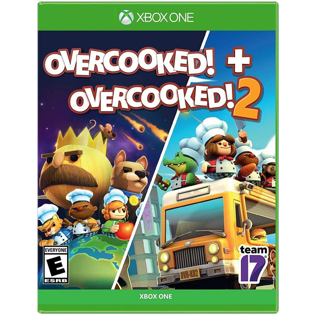 Xbox One Overcooked 1 and 2 Double Pack