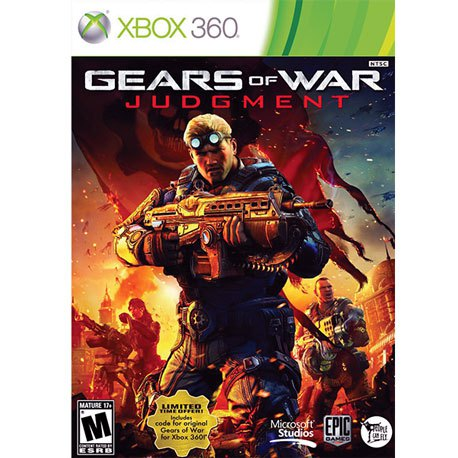 Xbox 360 Gears Of War Judgment