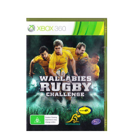 XBox 360 Wallabies Rugby Challenge (PAL)