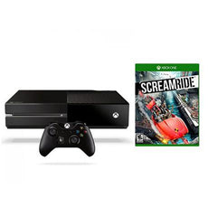 Xbox One 500GB Console (Export Set) + Kinect Sensor + Screamride