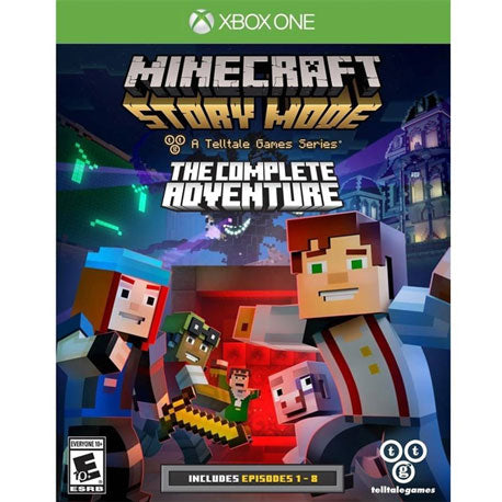 Dynamic Minecraft Story Mode The Complete Adventure Xbox 360 Replacement Case Only Video Games & Consoles