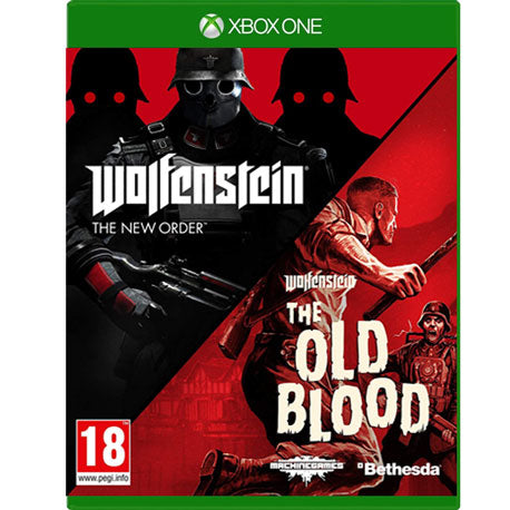 XBOX ONE WOLFENSTEIN PACK : THE NEW ORDER & THE OLD BLOOD
