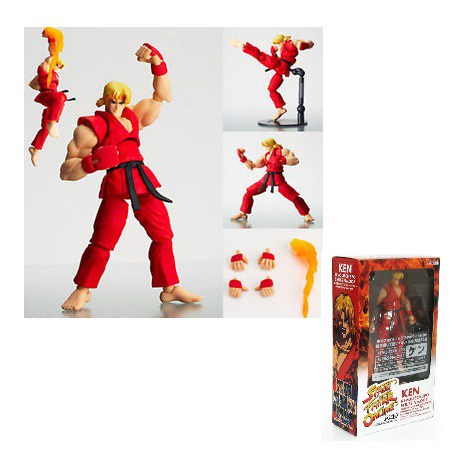 Street Fighter Online Ken Revoltech Series No. 007