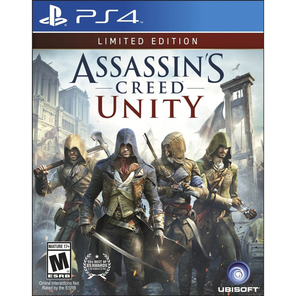 PS4 Assassin's Creed Unity Limited Edition (R-ALL)