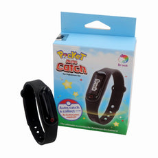 Pocket Auto Catch Wristband Bracelet Black -For Pokemon Go