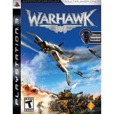 PS3 Warhawk with Bluetooth Headset