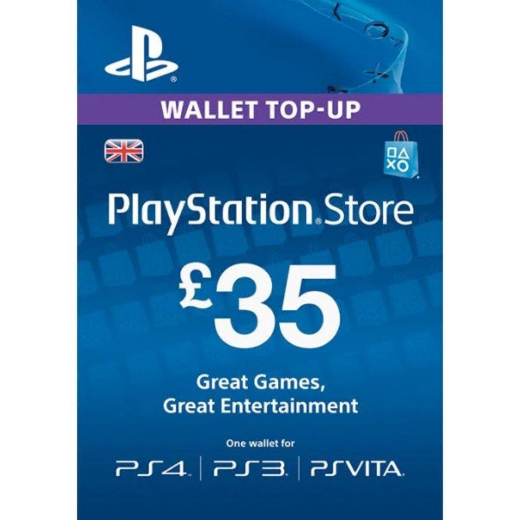 Playstation Network Card - £35 (PS Vita/PS3/PS4)