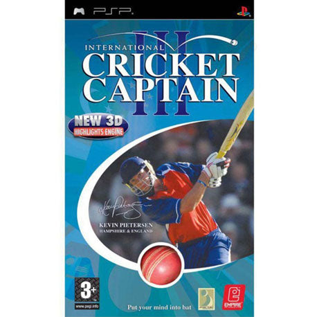 PSP International Cricket Captain 3