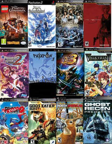 PSP Assorted Games