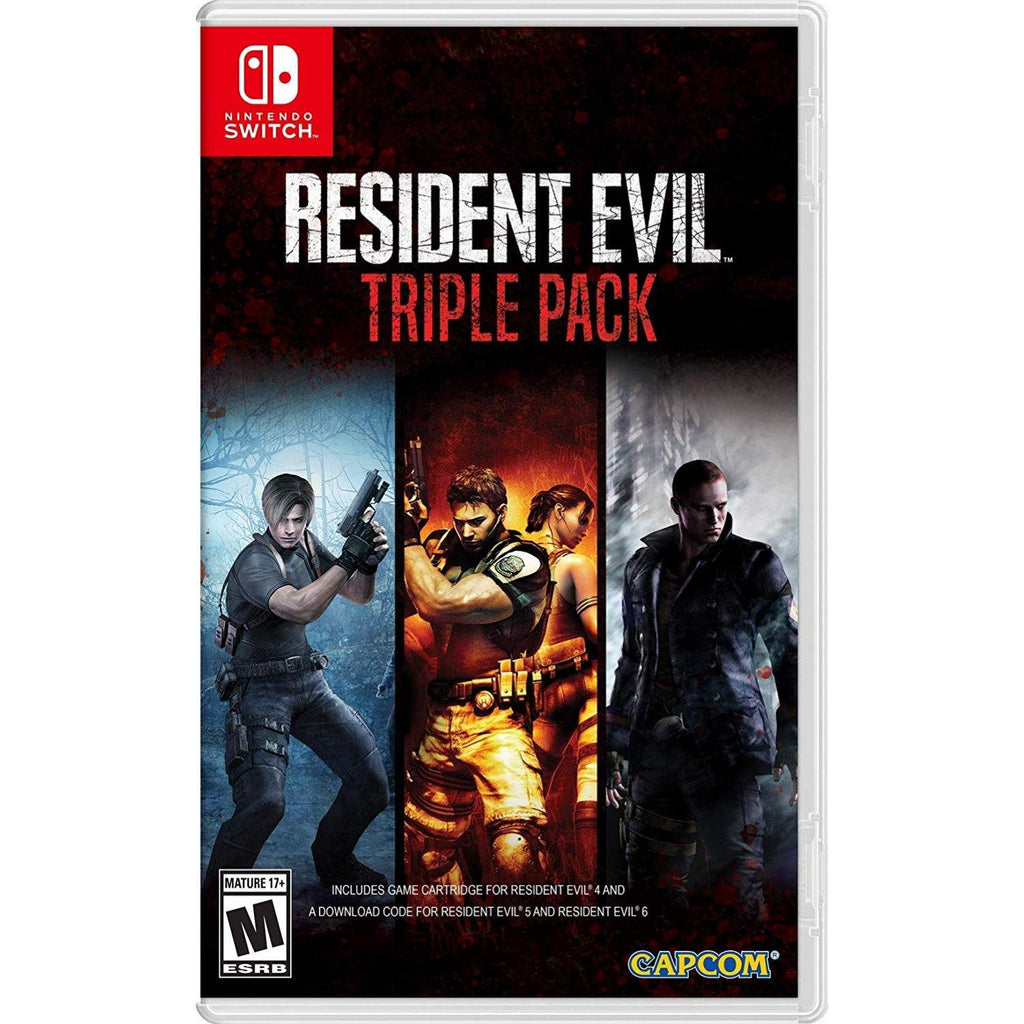 Nintendo Switch Resident Evil Triple Pack