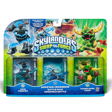 Skylanders Swap Force (Grim Creeper, Arkeyan Crossbow, Thorn Horn Camo)