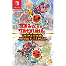 Nintedno Switch Taiko no Tatsujin: Rhythmic Adventure Pack