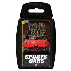 Top Trump Quiz Sport Cars Card