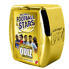 Top Trump Quiz World Football Stars