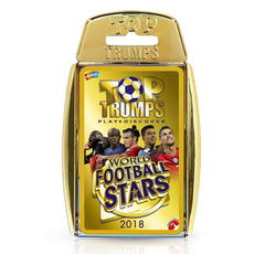 Top Trump Quiz World Football Stars Card