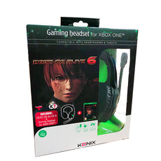 Xbox One Dead or Alive 6 + Gaming Headset Special Edition Bundle