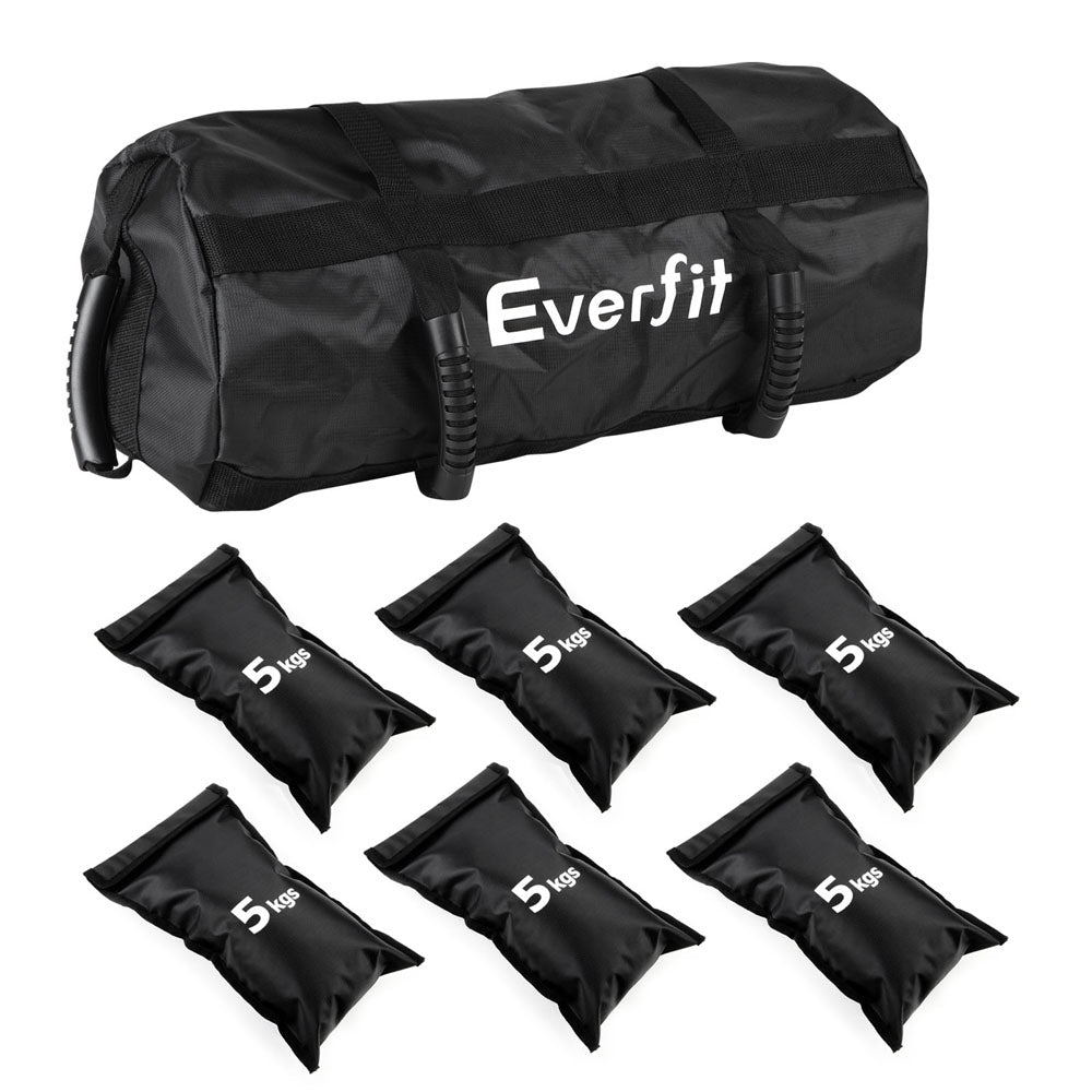 eeed6a4c0119 Everfit Fitness Sandbag Weight Bag For Strength Training Weight Adjustable  30kg