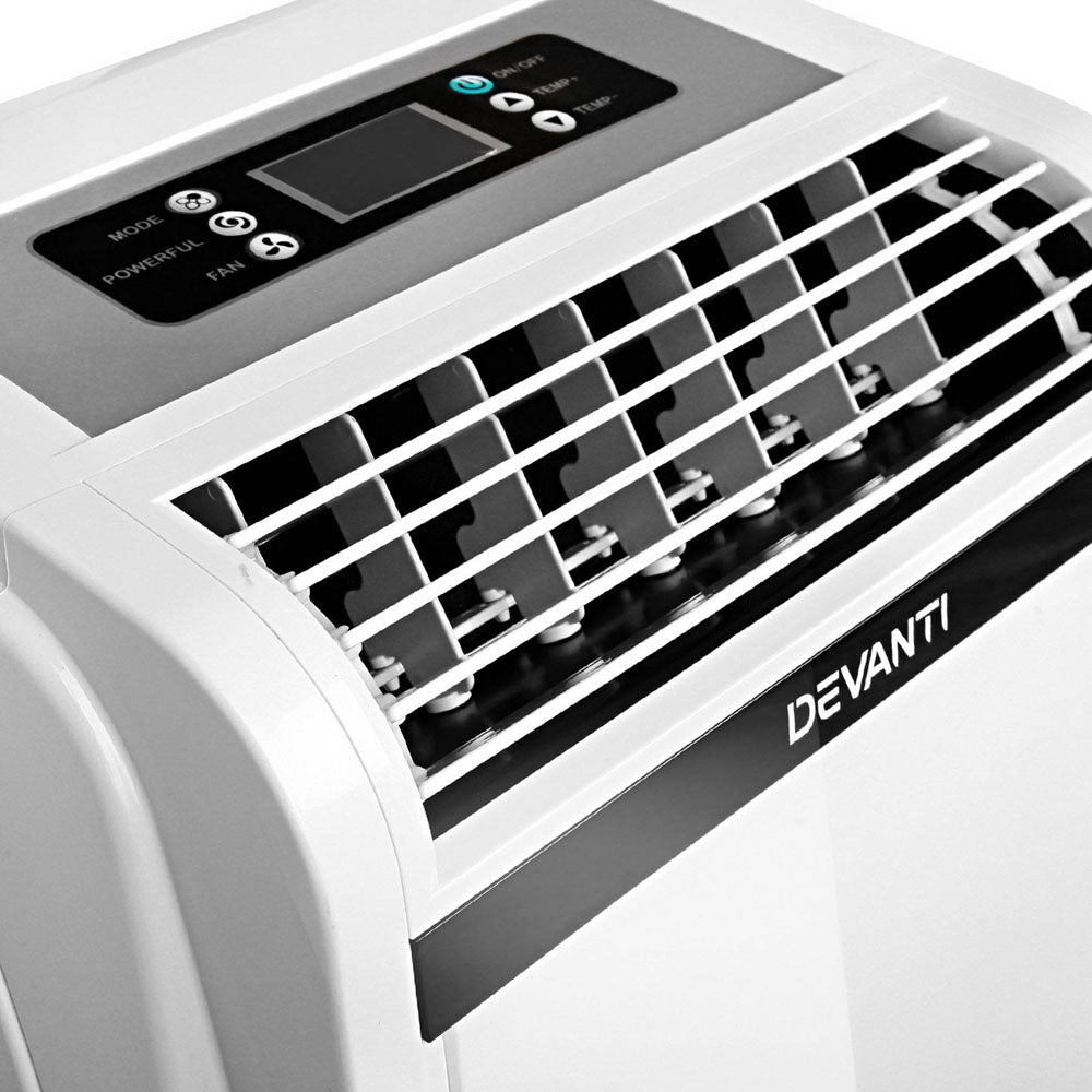 14b4873a904 Devanti 4 In 1 Portable Air Conditioner Fan Dehumidifier Heater 4.1Kw  16000Btu