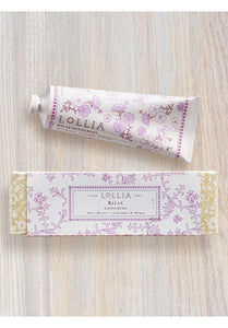 LoLLIA Shea Butter Hand Cream - RELAX