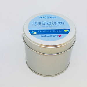 Fresh Clean Cotton inspired by Bath and Body Works® Duft 8oz.