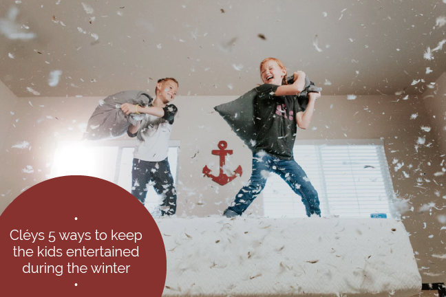 5 Ways to keep the kids entertained during the winter