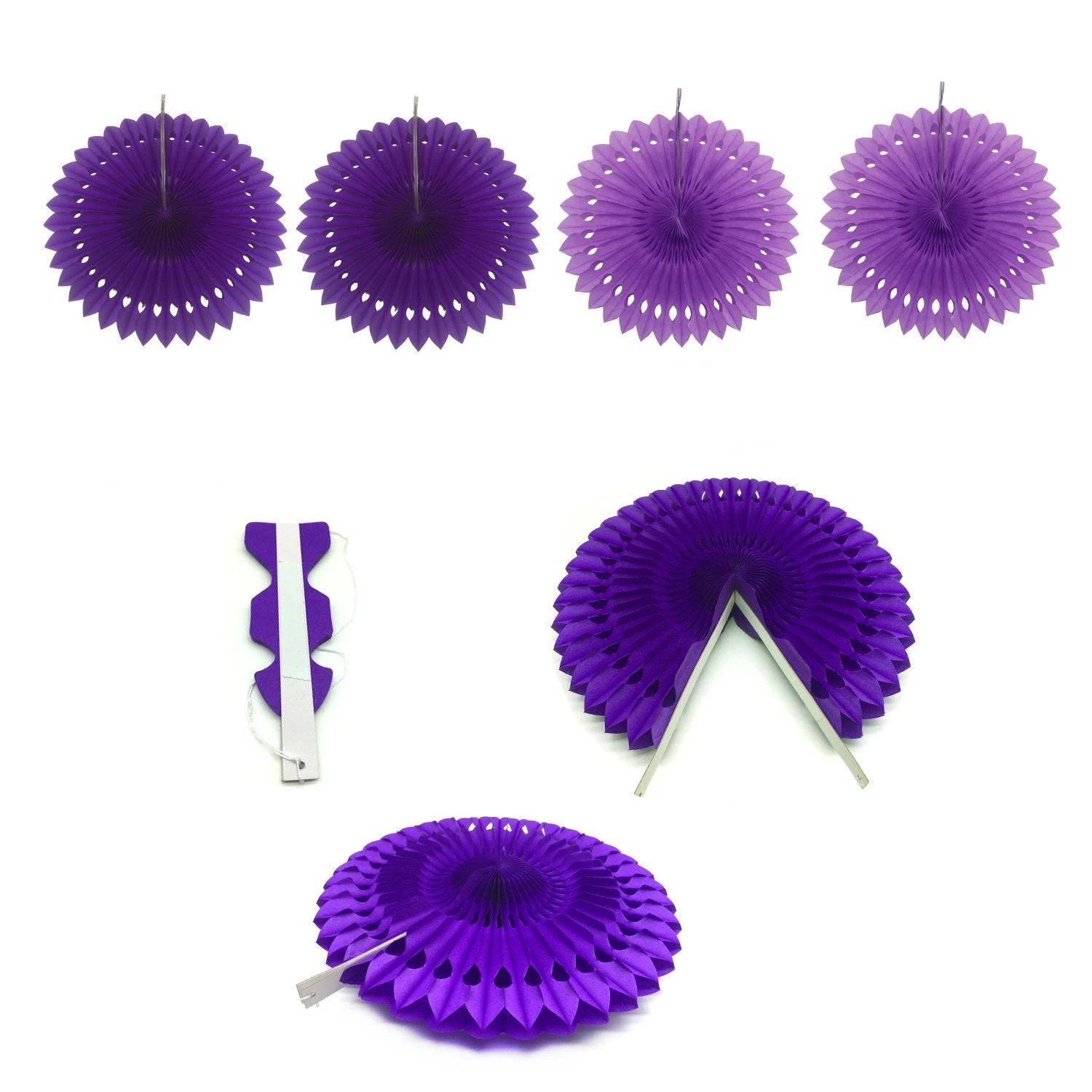 Purple Birthday Party Decorations Kit