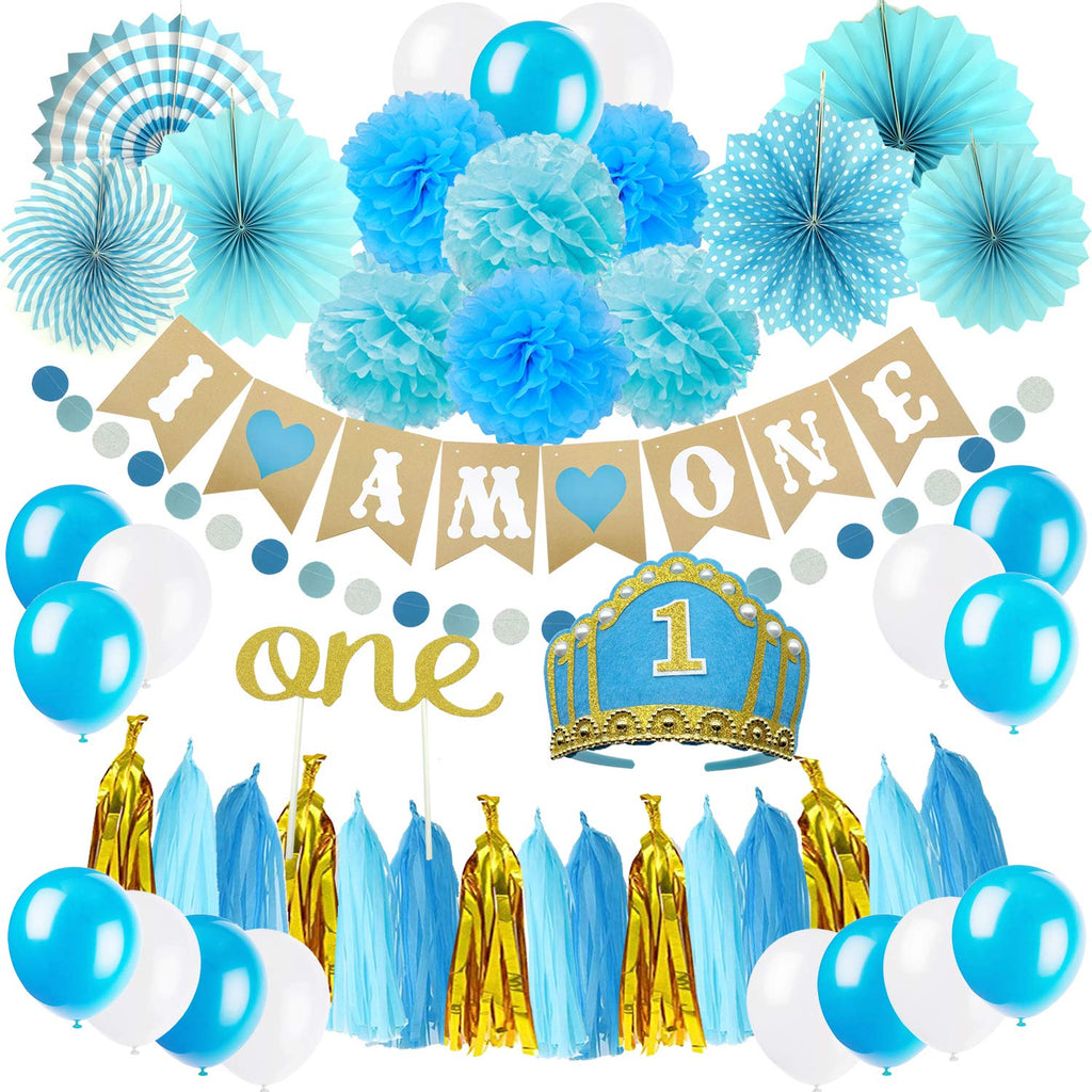 Blue 'I AM ONE' Party Pack