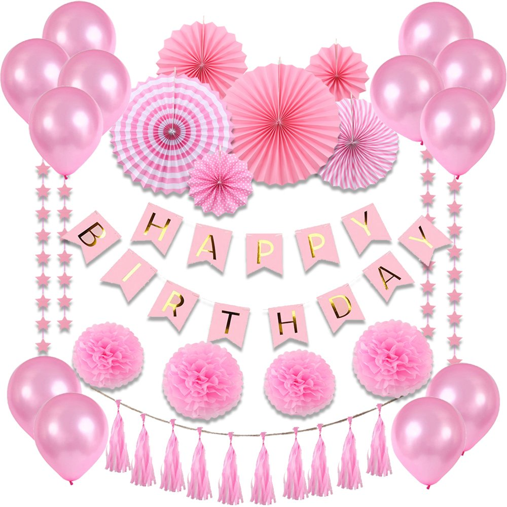 Pink Happy Birthday