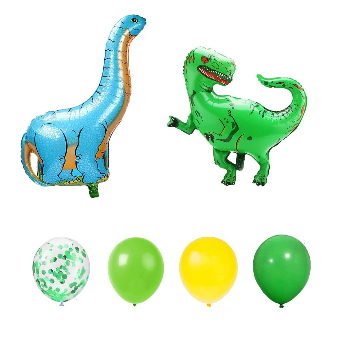Green & Yellow Dinosaurs Party Pack