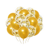 20 Gold Confetti Balloon Bunch
