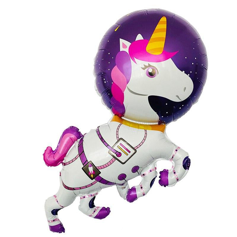 58 Piece Space Unicorn Style Party Pack