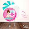"""Relax Mum"" Yoga Mother's Day Balloon Bouquet - Delivered Inflated"