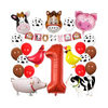 1st Birthday - Animal Farm, Barnyard Birthday Decorations Pack